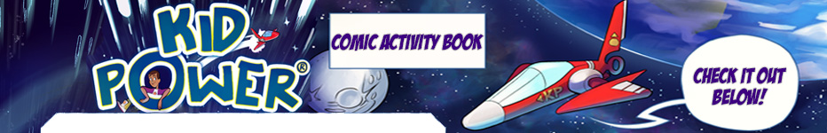Comic Activity Book