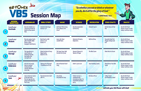 VBS Session Map